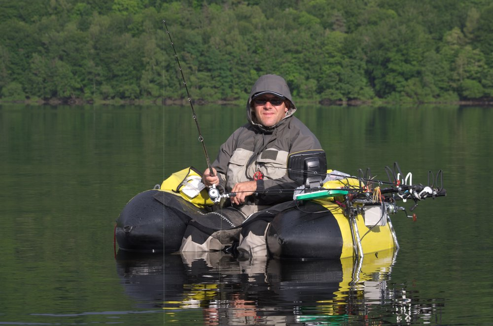 One Man Inflatable Fishing Float